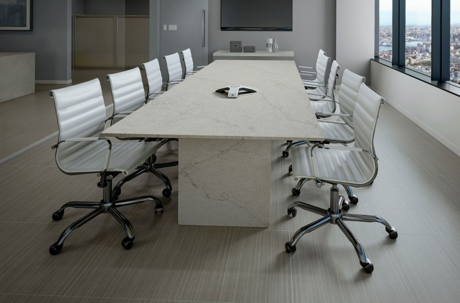 Daltile Fabric Art - Modern Linear Medium Gray