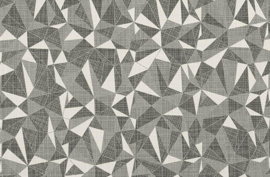 Daltile Fabric Art - White Ash Prism
