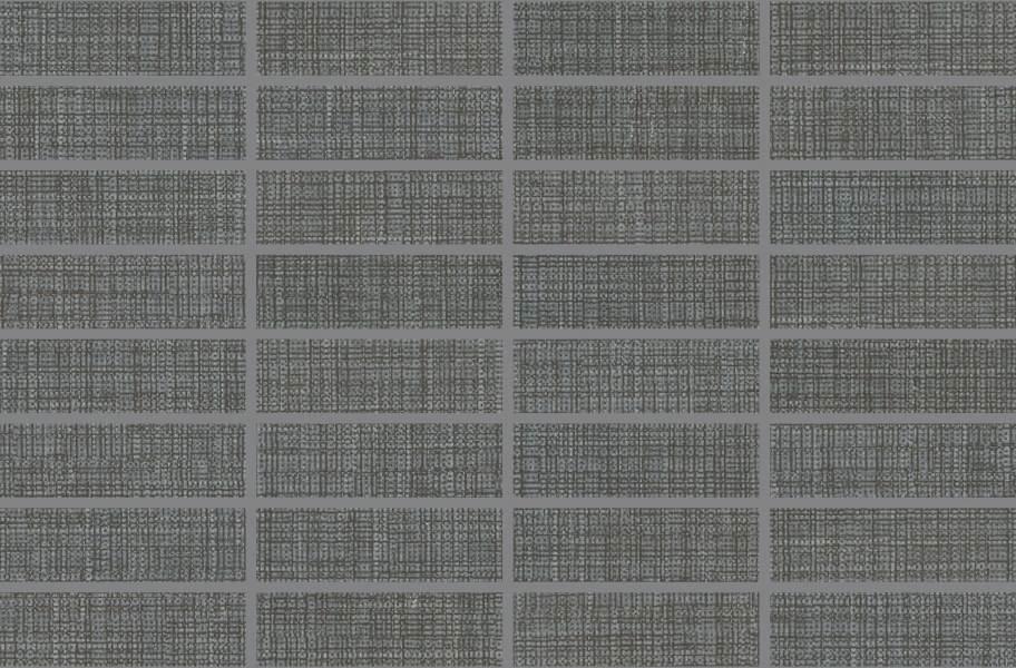 Daltile Fabric Art Mosaic - Modern Textile Dark Gray
