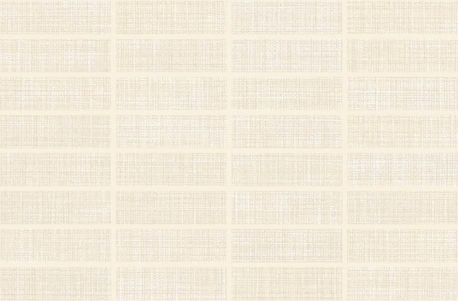 Daltile Fabric Art Mosaic - Modern Textile Beige