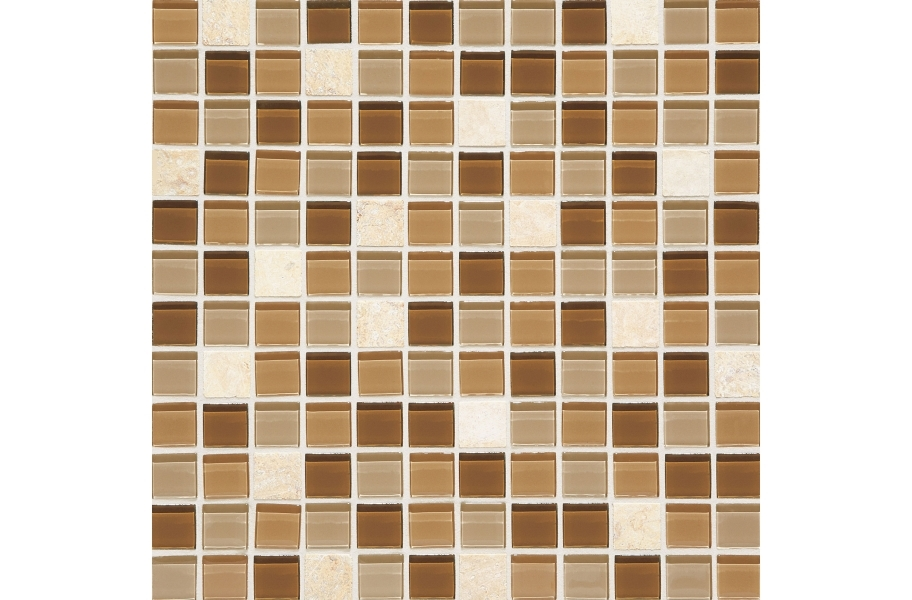 Daltile Mosaic Traditions - Caramelo 1 x 1