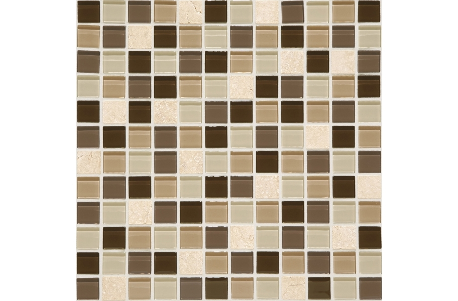 Daltile Mosaic Traditions - Zen Escape 1 x 1