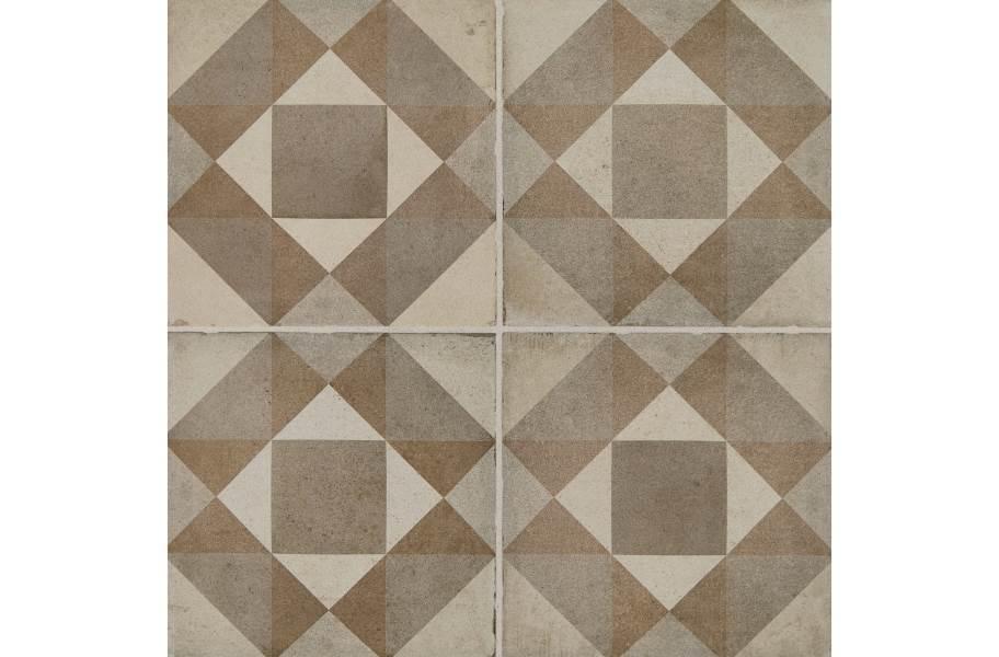 Daltile Quartetto - Warm Figura (4 tiles)