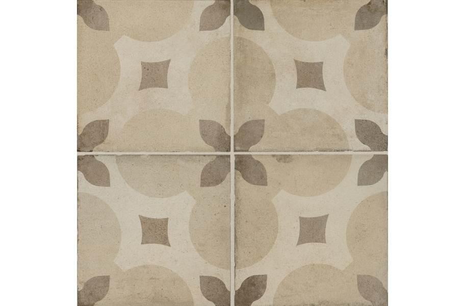 Daltile Quartetto - Warm Piccolo Fiore (4 tiles)