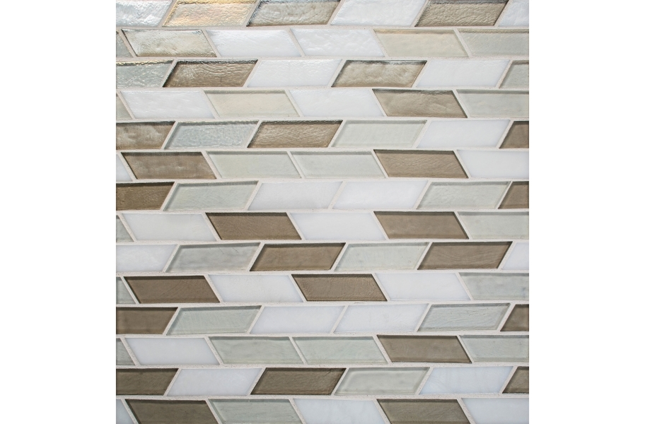 Daltile Illuminary Glass Mosaic - Oscillating Allusion Blend