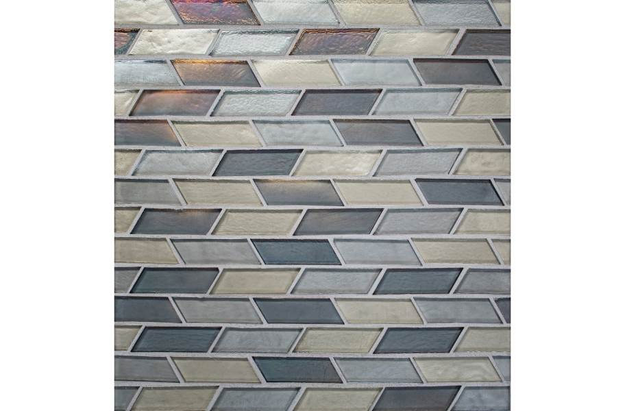 Daltile Illuminary Glass Mosaic - Oscillating Radiance Blend