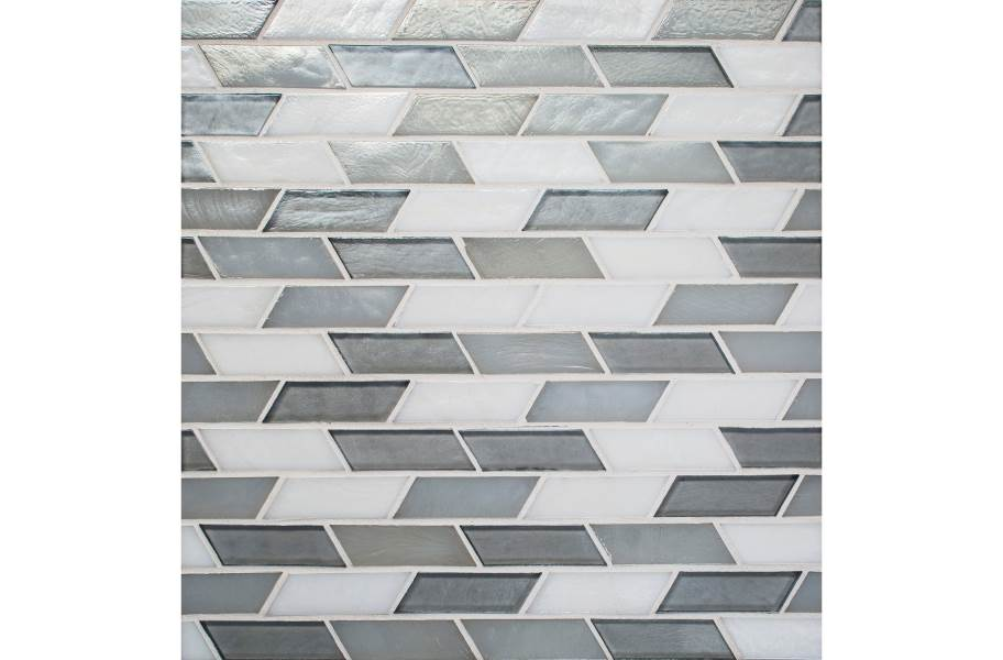 Daltile Illuminary Glass Mosaic - Oscillating Whisper Blend