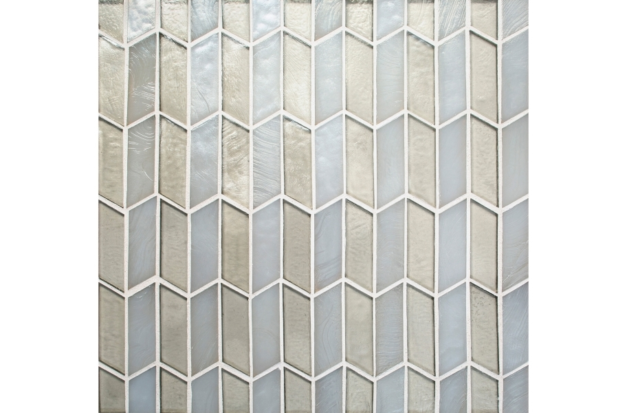 Daltile Illuminary Glass Mosaic - Accordion Illustrious Blend