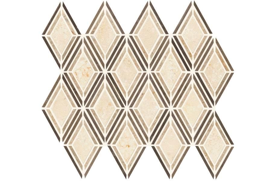 Daltile Stone Decorative Accents - Argyle Blend Beige