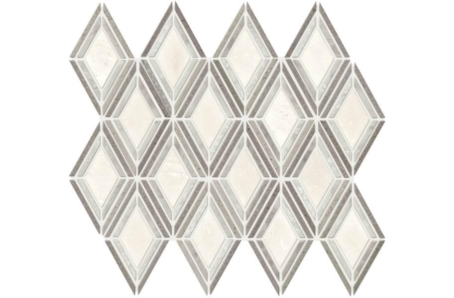 Daltile Stone Decorative Accents - Argyle Blend Gray