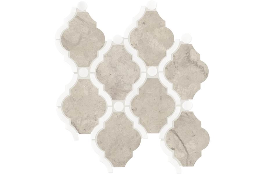 Daltile Stone Decorative Accents - Framed Baroque Volcanic Gray Blend