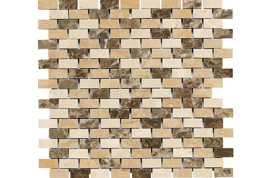 Daltile Stone Decorative Accents - Brick Joint Adda Blend
