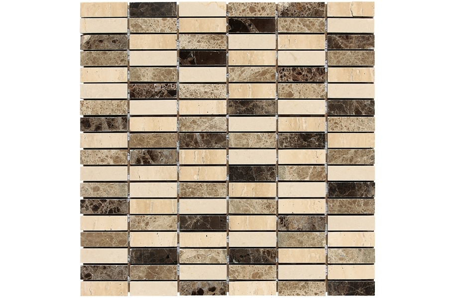 Daltile Stone Decorative Accents - Stacked Joint Ticino Blend