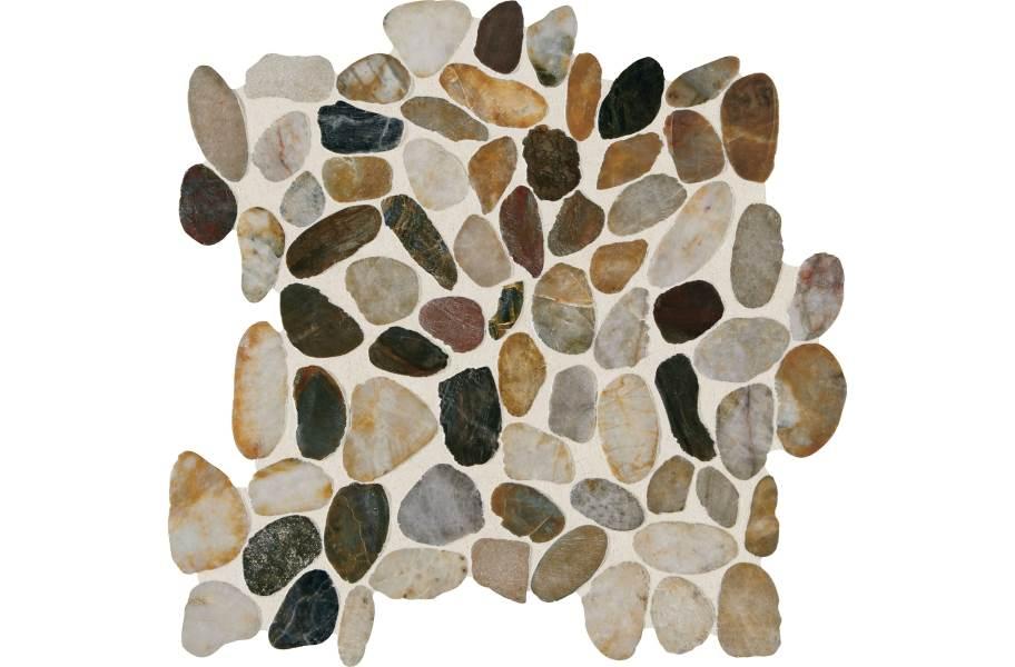Daltile Stone Decorative Accents - Pebble Earthy Blend