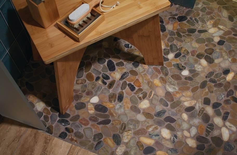 Daltile Stone Decorative Accents - River Pebble Earthy Blend