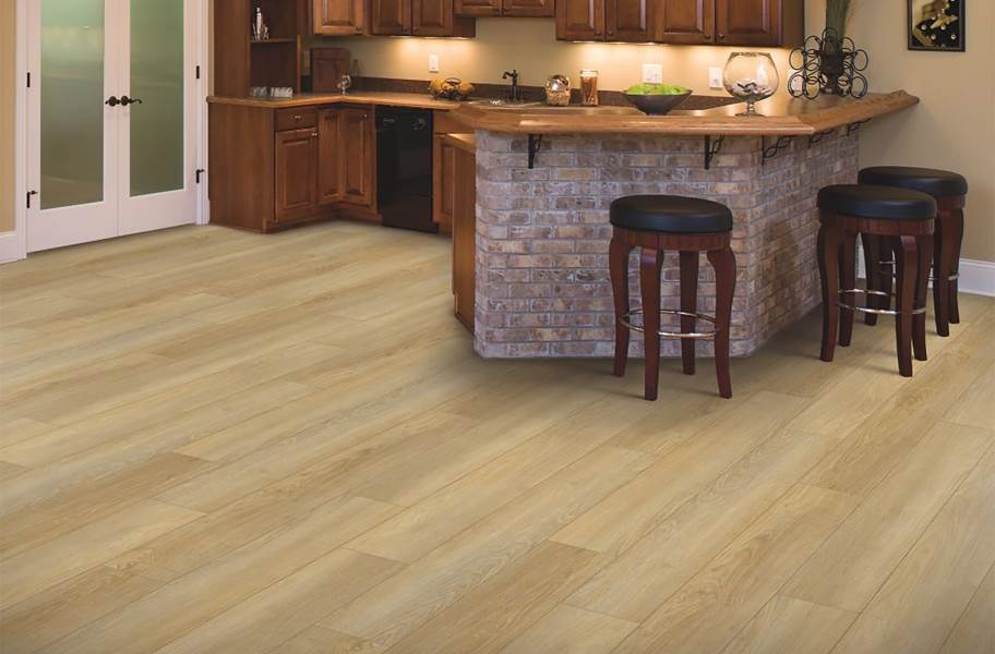 "Mohawk Delmont 6"" Rigid Core Vinyl Planks - Bismuth"