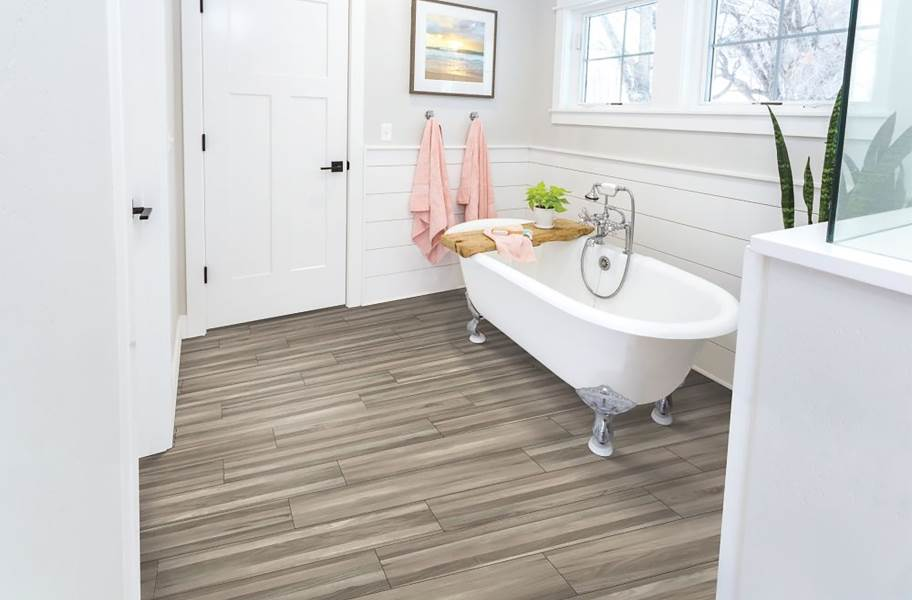 "Mohawk Franklin 7.5"" Rigid Core Vinyl Planks - Augustine"