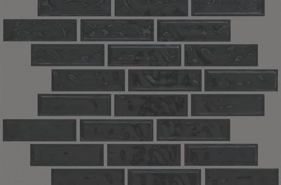 Shaw Geoscape Random Linear Mosaic - Black / White
