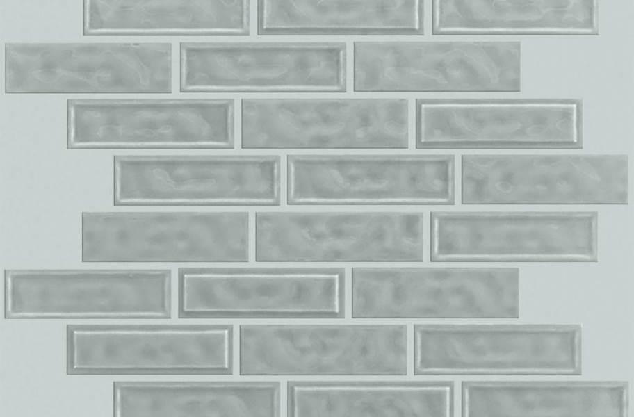 Shaw Geoscape Random Linear Mosaic - Dark Gray
