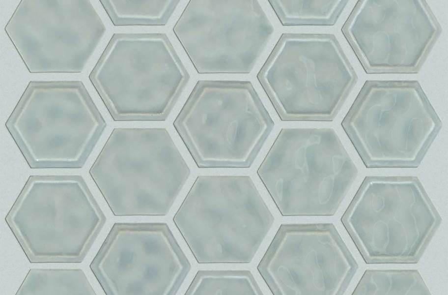 Shaw Geoscape Hexagon Mosaic - Light Gray