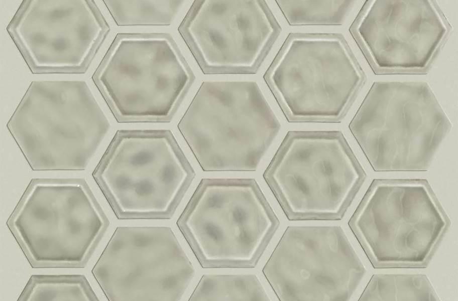 Shaw Geoscape Hexagon Mosaic - Taupe