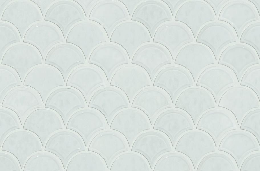 Shaw Geoscape Fan Mosaic - Bone