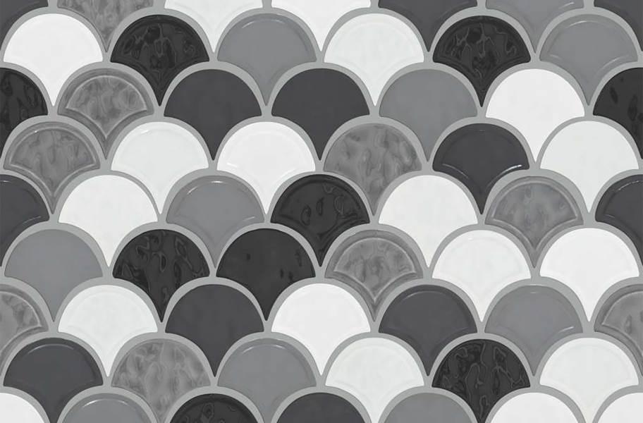 Shaw Geoscape Fan Mosaic - Cool Blend