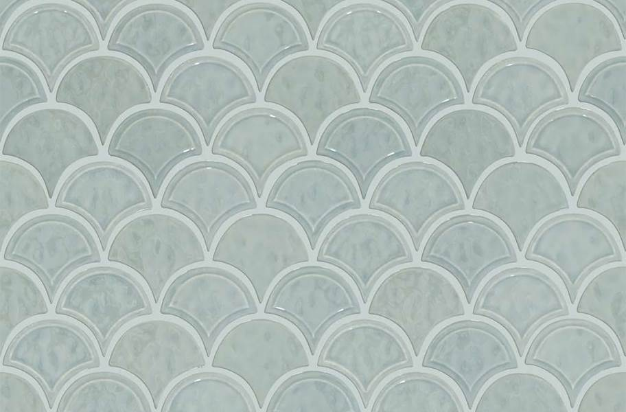 Shaw Geoscape Fan Mosaic - Light Gray