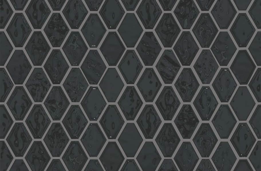 Shaw Geoscape Diamond Mosaic - Black