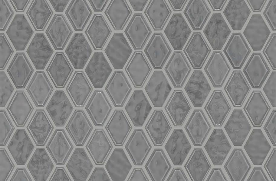 Shaw Geoscape Diamond Mosaic - Dark Gray