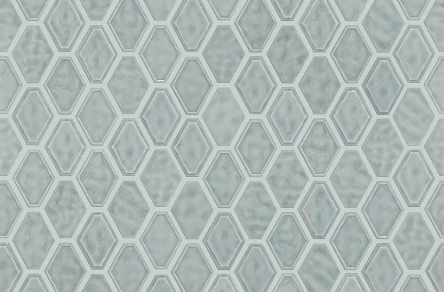 Shaw Geoscape Diamond Mosaic - Light Gray