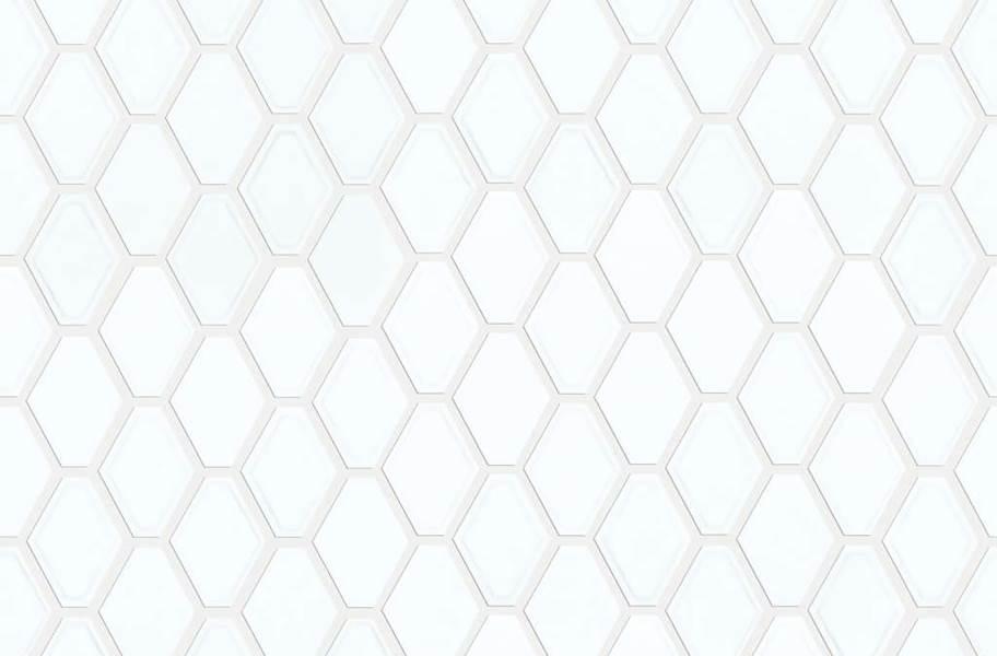Shaw Geoscape Diamond Mosaic - White