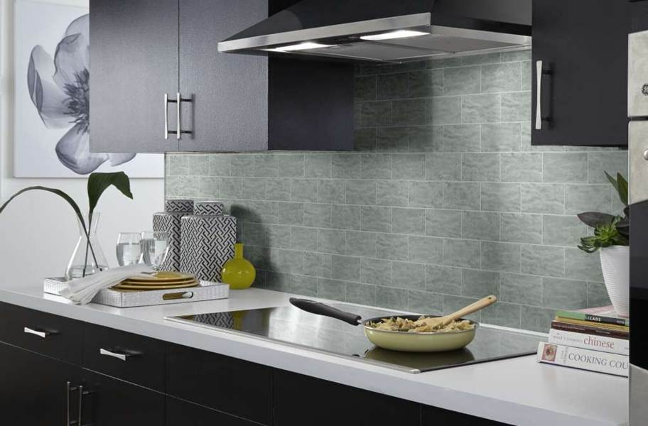 Shaw Geoscape Subway Wall Tiles - Light Gray
