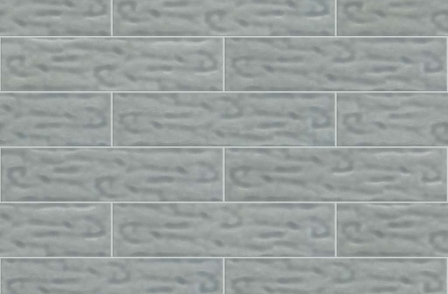Shaw Geoscape Subway Wall Tiles - Light Gray 4x16