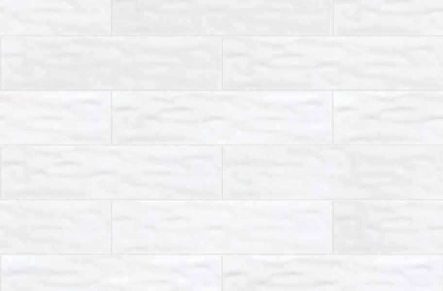 Shaw Geoscape Subway Wall Tiles - White 4x16