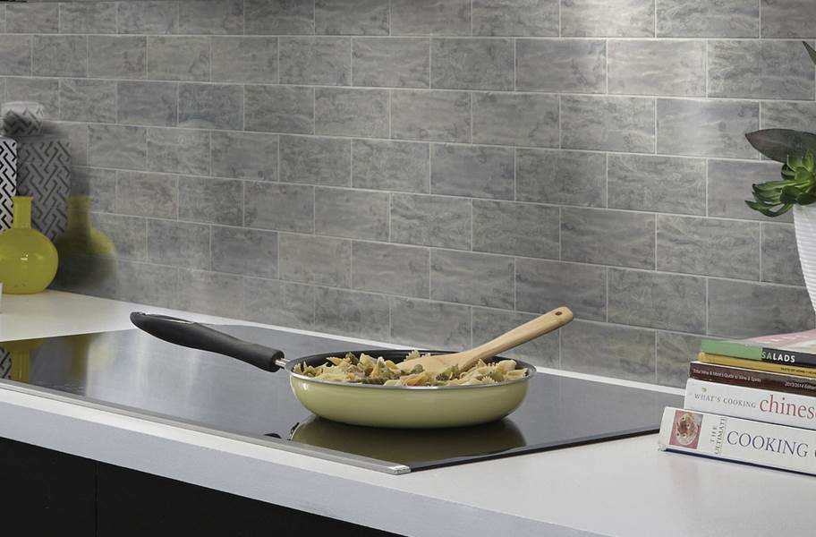 Shaw Geoscape Subway Wall Tiles - Dark Gray