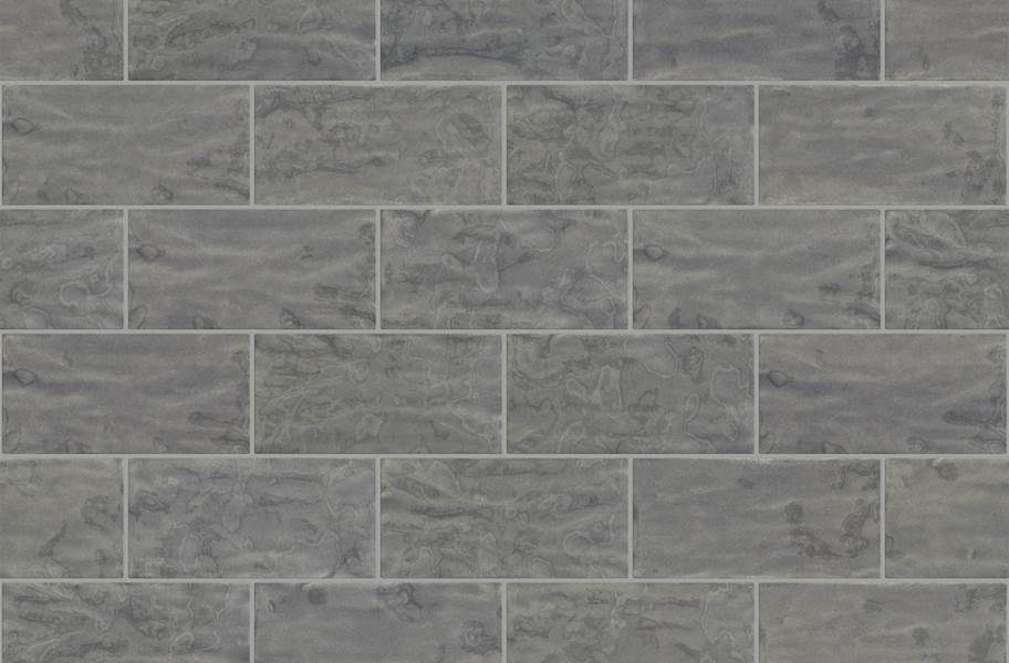 Shaw Geoscape Subway Wall Tiles - Dark Gray 3x6