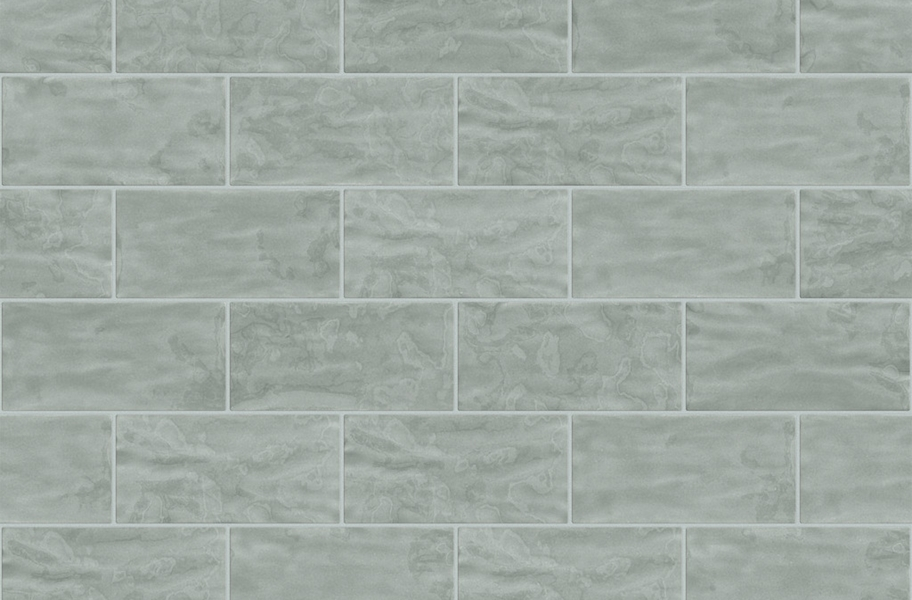 Shaw Geoscape Subway Wall Tiles - Light Gray 3x6