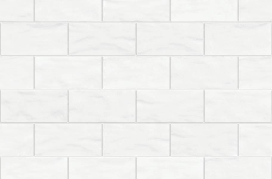 Shaw Geoscape Subway Wall Tiles - White 3x6