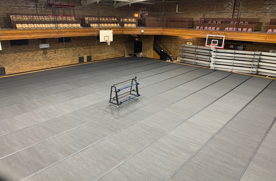 Gym Floor Cover Rolls