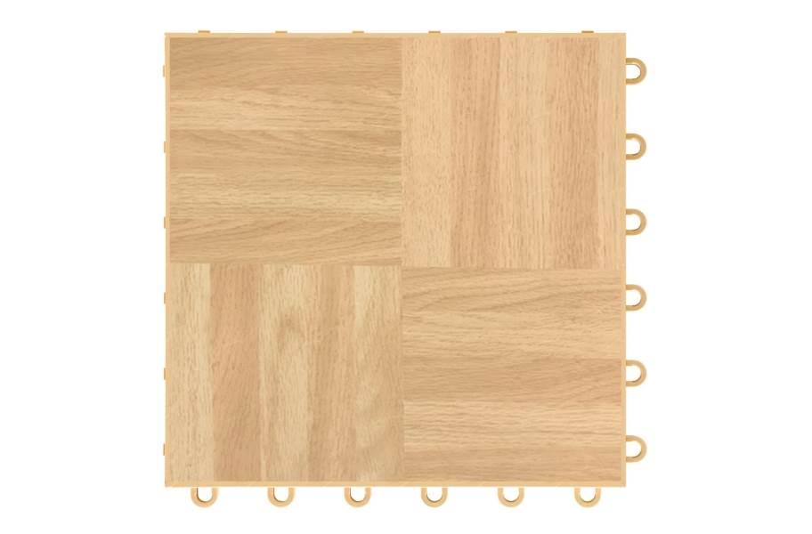 Dancetrax Tiles - Oak Parquet