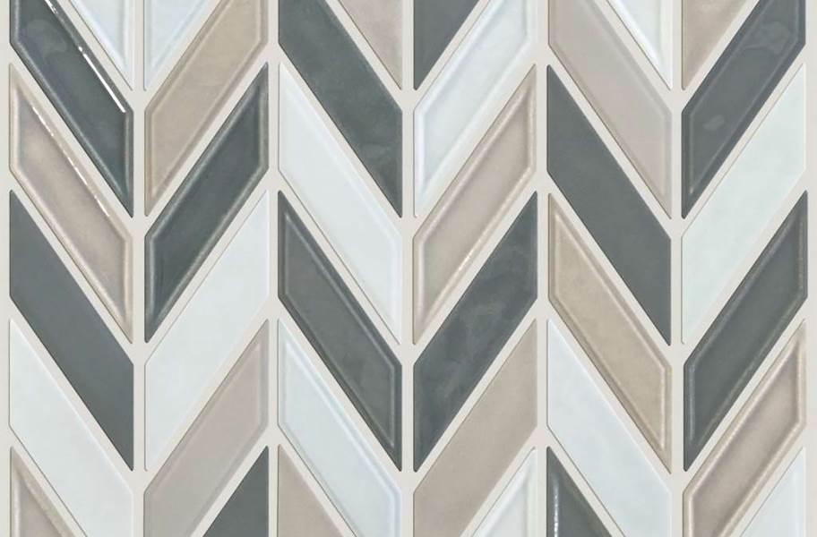 Shaw Geoscape Chevron Mosaic - Warm Blend
