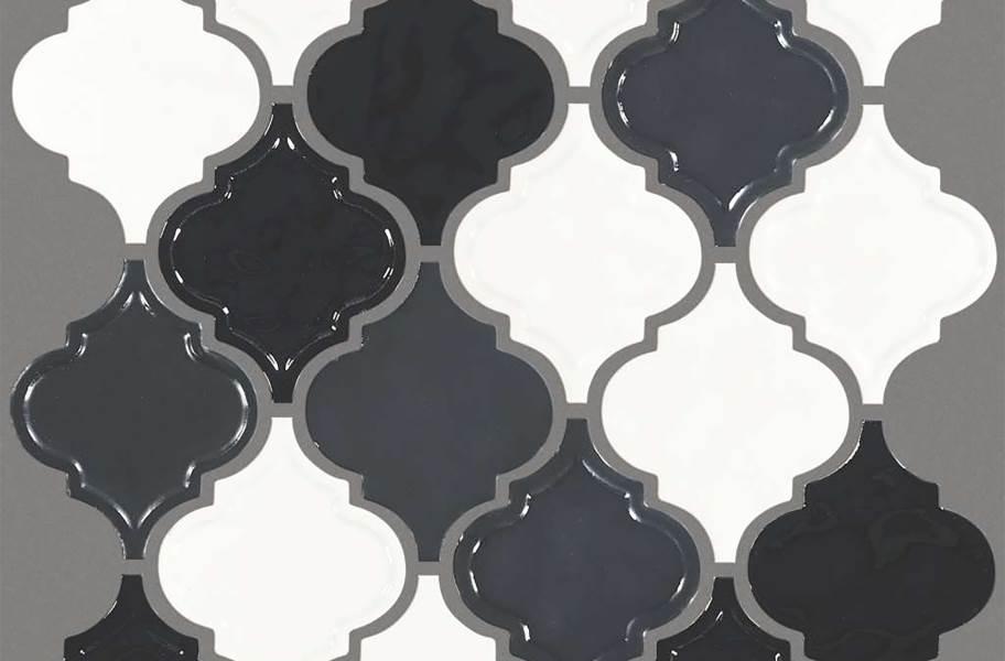 Shaw Geoscape Lantern - Black & White