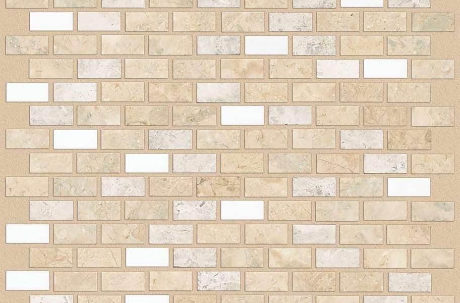 Shaw Boca Natural Stone Mosaic - Brick - Hammock