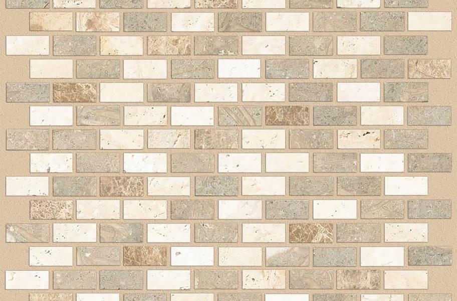 Shaw Boca Natural Stone Mosaic - Brick - Longboard