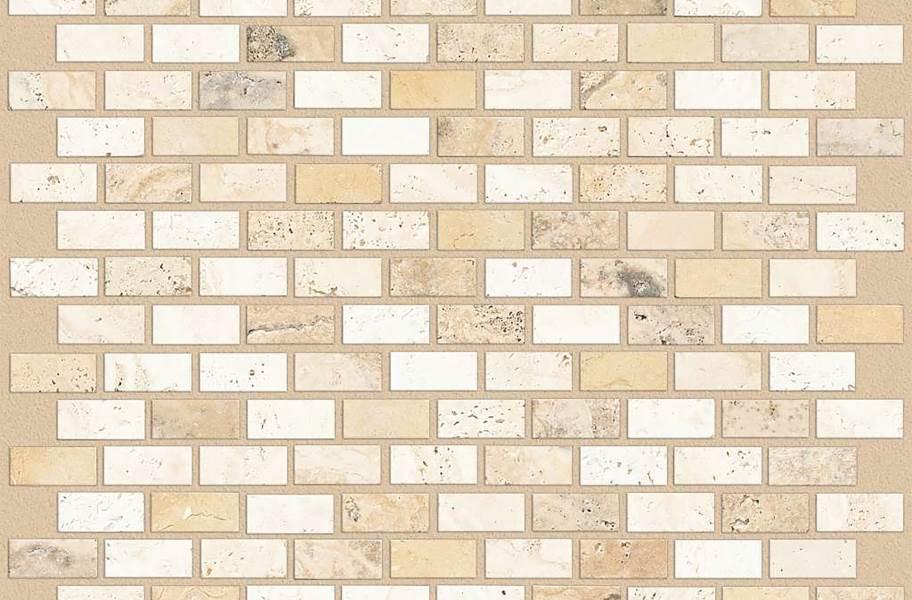 Shaw Boca Natural Stone Mosaic - Brick - Sail
