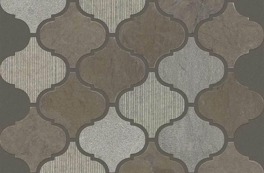 Shaw Boca Natural Stone Mosaic - Lantern - Foussana Gray