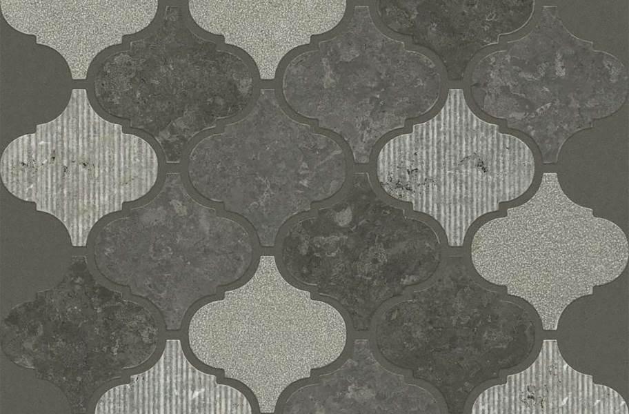 Shaw Boca Natural Stone Mosaic - Lantern - Milly Gray