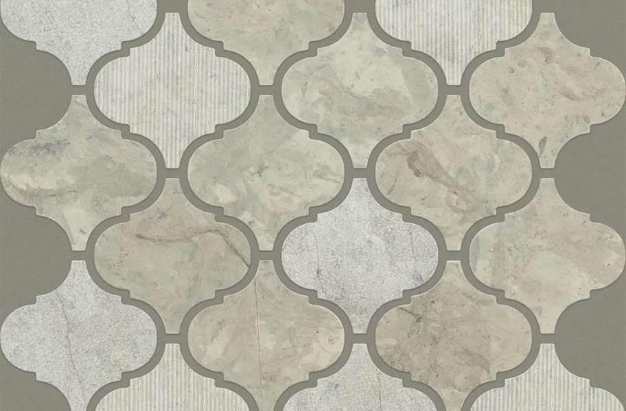 Shaw Boca Natural Stone Mosaic - Lantern - Thala Gray
