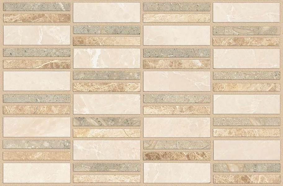 Shaw Boca Natural Stone Mosaic - Linear - Voyage